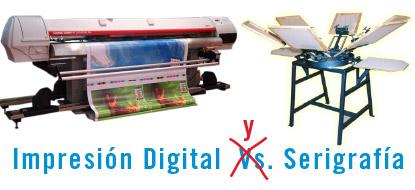 Serigrafía E Impresión Digital ? ¿Enemigos O Socios?